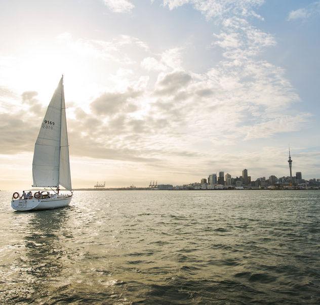 Prístav v Aucklande