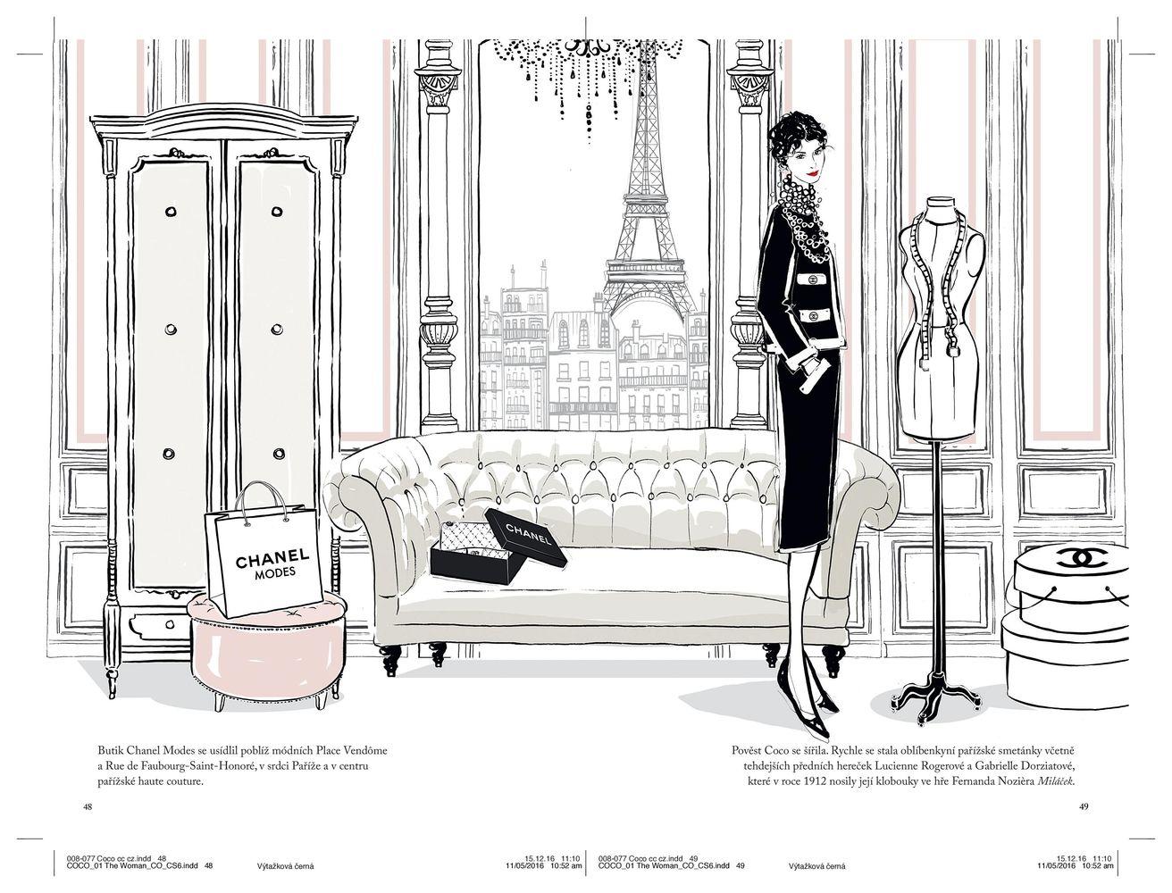 Ukážka z knihy Coco Chanel - Ilustrovaný svet módnej ikony