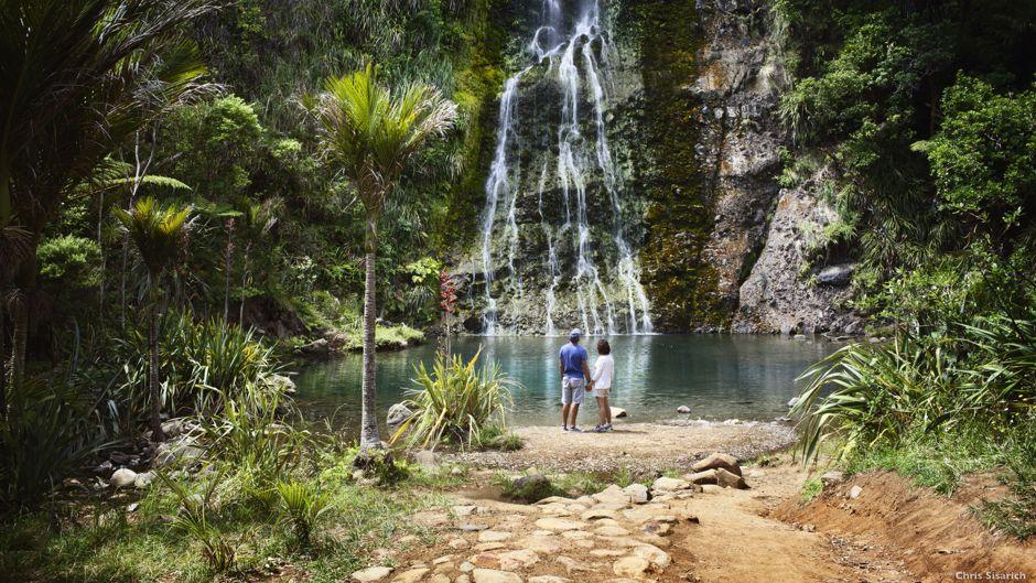 Karekare vodopády, Auckland