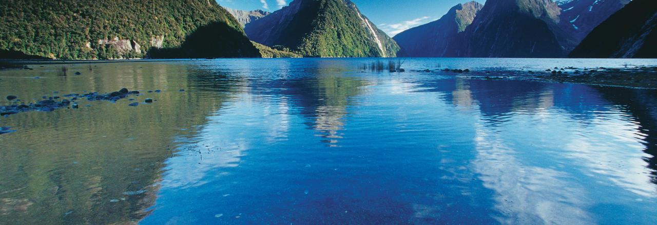 Mitre Peak, Milford Sound, Fiordland
