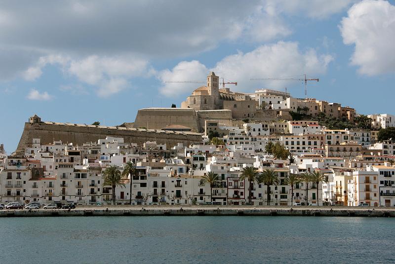 hrad na Ibize