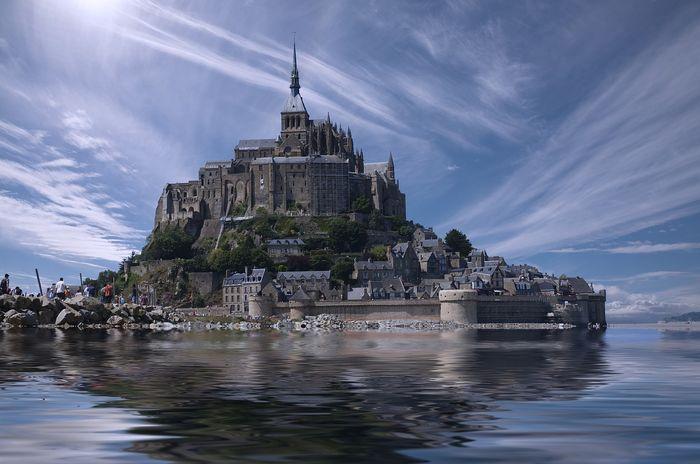 Le Mont-Saint-Michel, Francúzsko