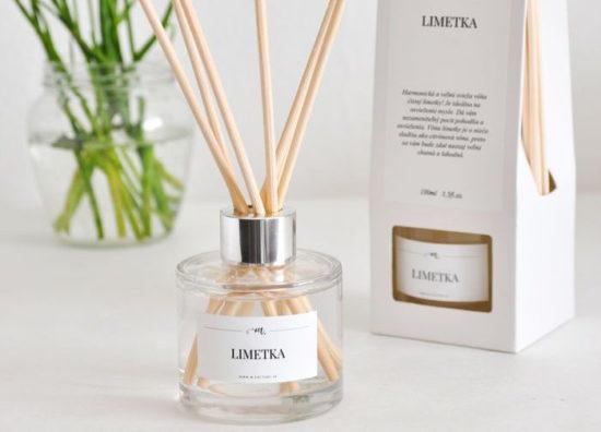 Tipy na darčeky: Difuzér s vôňou limetka, M-Factory