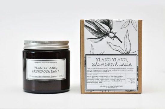 Tipy na darčeky: Ylang Ylang sviečka, M-Factory